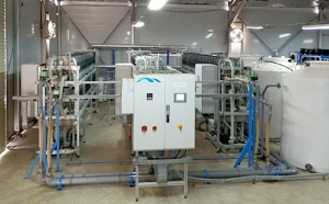 Memsys plant for RO brine concentration in Abu Dhabi, Masdar program